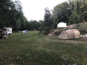 Le camping<br />à la ferme